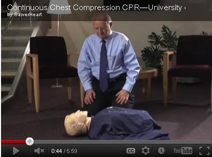 Community Resource: University of Arizona CPR Video