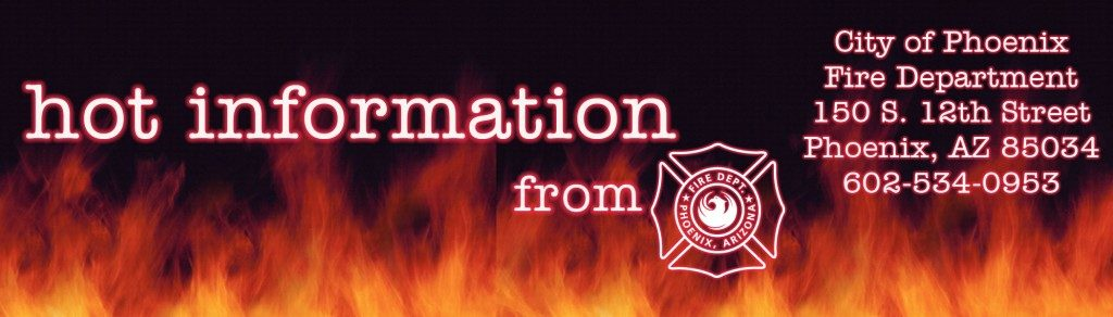 Phoenix Fire Department Hot Information