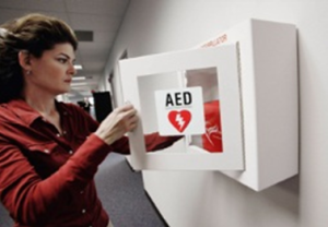 RightCare AED wall mount